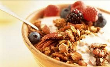 This is an image of low carb muesli