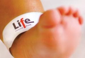Baby's little foot