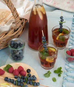 rooibos & berry mocktail
