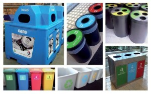Postwink Recycling Bins