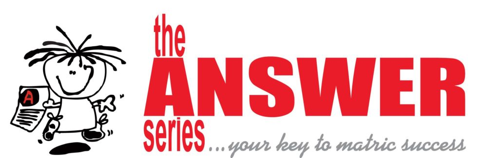 Logo for The Answer Series