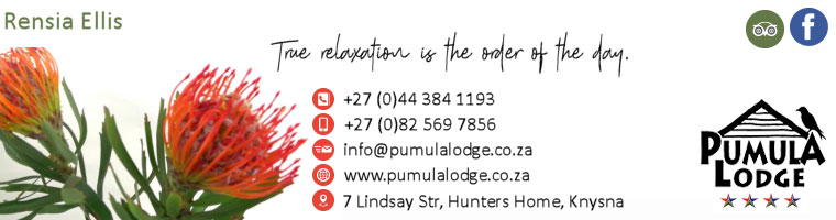 pumula lodge contact information