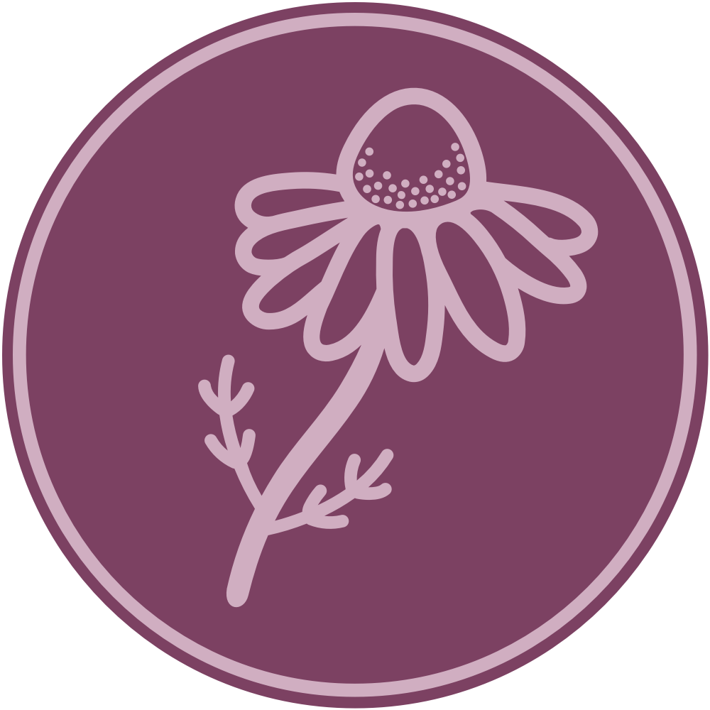 Lady of the Herbs logo