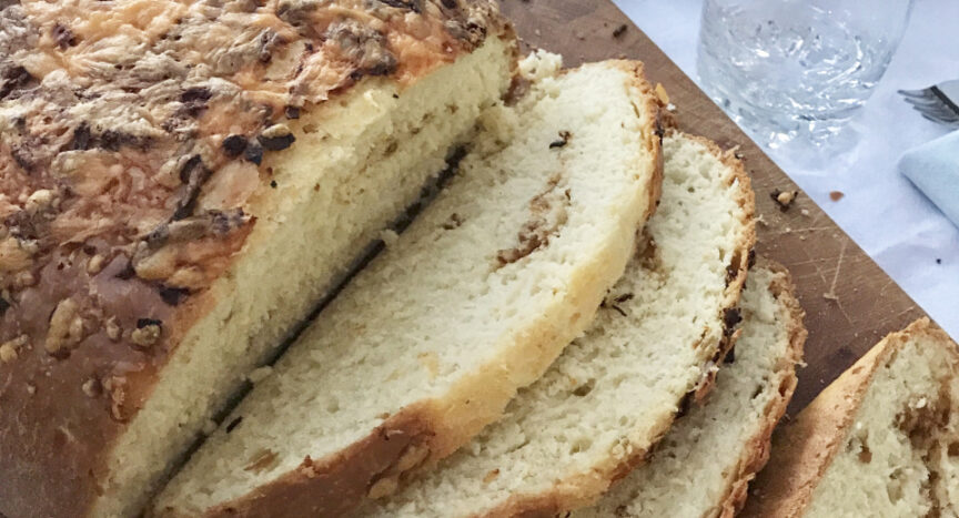Cheese and Onion Bread