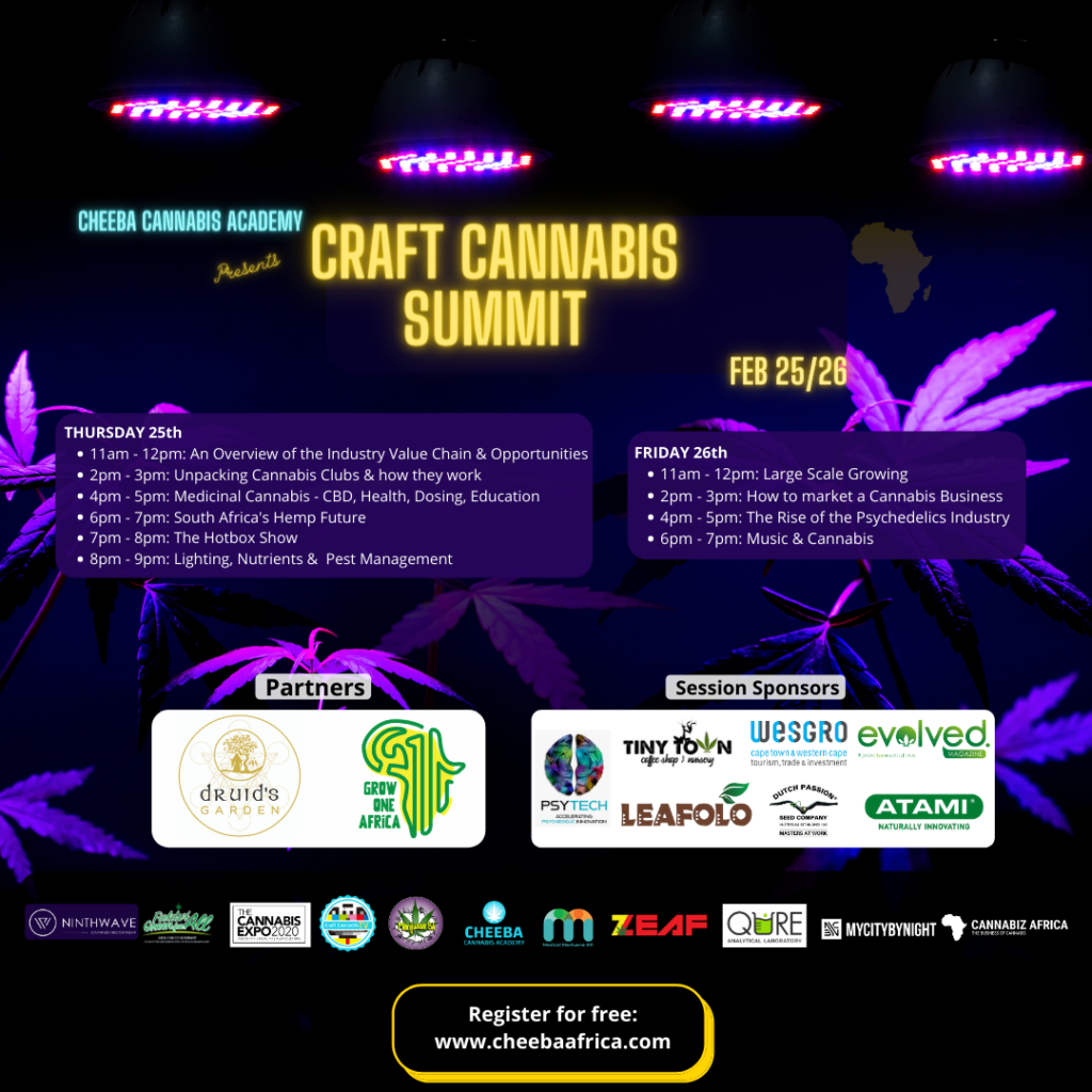 poster for craft cannabis summit