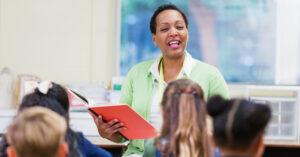 photo of a teacher