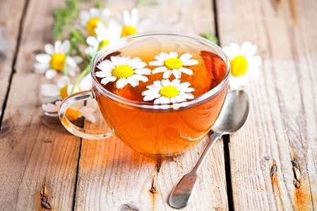 Rooibos and chamomile