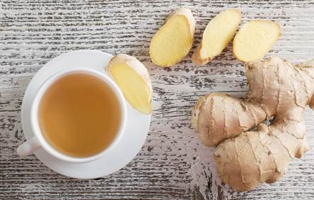 Rooibos and ginger