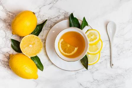 Rooibos and lemon