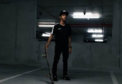 Skateboarding Gold Medallist